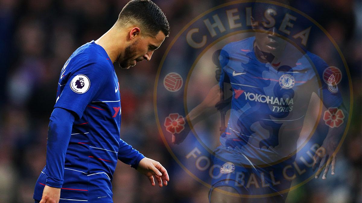 Hazard ya no es el mejor pagado de la plantilla del Chelsea.