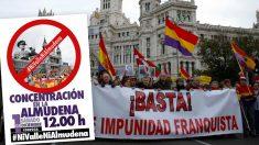 La plataforma 'Ni Valle ni Almudena' inicia una campaña de agitación callejera. (Foto: OKDIARIO/EFE)