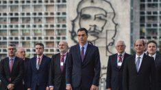 Pedro Sánchez en Cuba (Foto: AFP)