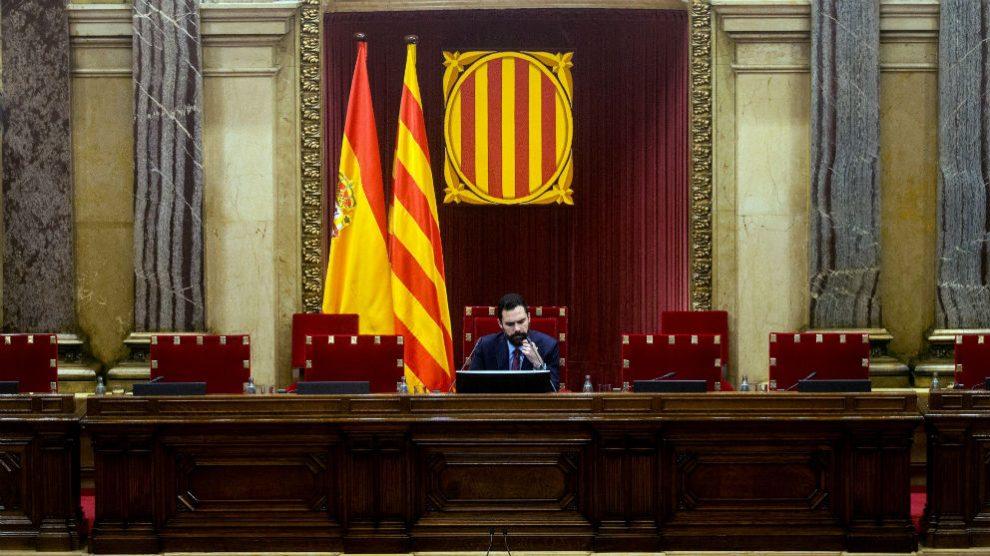 El presidente del Parlament de Cataluña, Roger Torrent (Foto: Efe/Quique García)