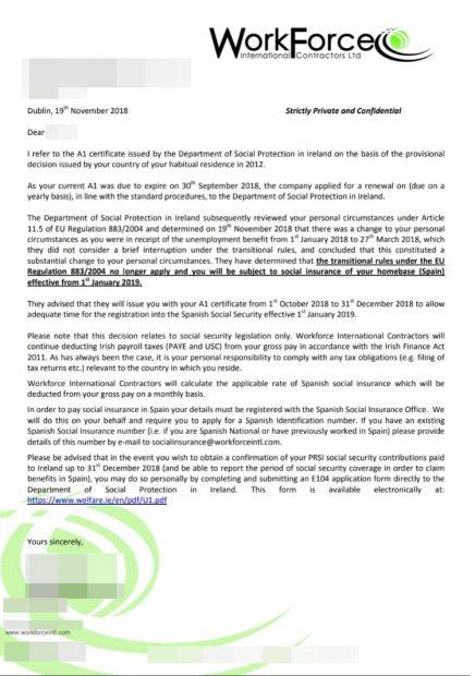 El limbo laboral de Ryanair: la Seguridad Social irlandesa deja fuera a trabajadores españoles de baja