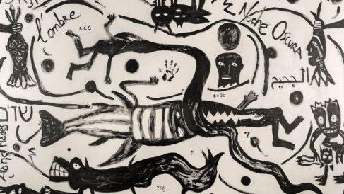 El mural 'Homo Ethicus' de Antonio Camaró (EP).