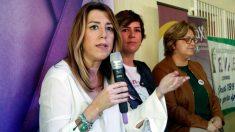 La presidenta andaluza Susana Díaz, duran