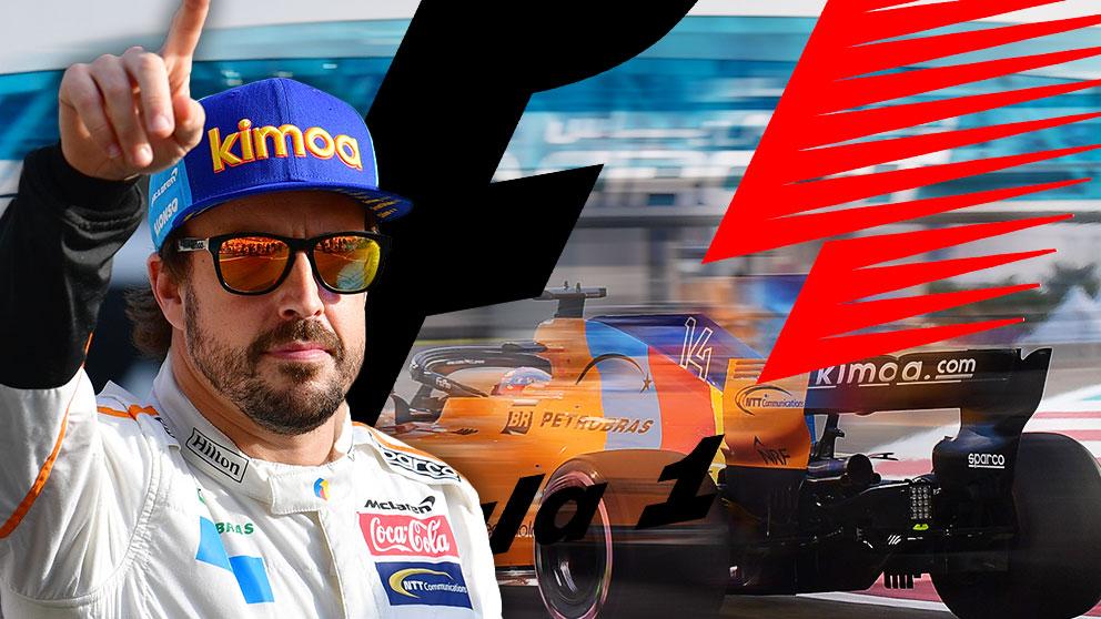 Alonso se despidió de la Fórmula 1 con un undécimo puesto.