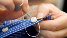 Aprende cómo coser un botón de manera fácil