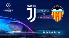 Champions League 2018 – 2019: Juventus – Valencia | Horario del partido de fútbol de Champions League.