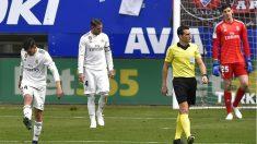 El Real Madrid es el segundo equipo más goleado como visitante. (AFP)