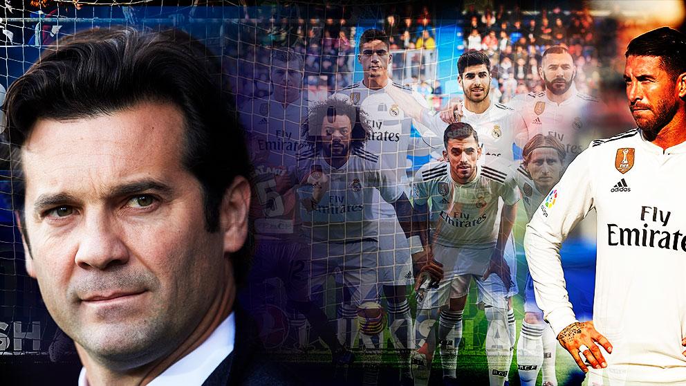 Santiago Solari tiene que tomar decisiones difíciles en el Real Madrid.