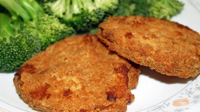 cuantas calorias tiene una hamburguesa de pollo a la plancha