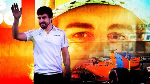 Fernando Alonso, en su adiós a la Fórmula 1.