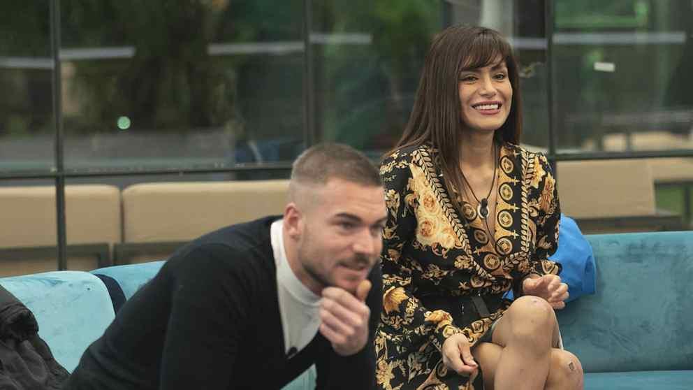 Tony Spina y Miriam en 'GH VIP 2018'