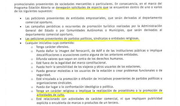 Ábalos prohíbe el belén que desde hace 25 años se instalaba en la estación de Atocha