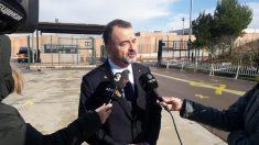 Alfred Bosch a las puertas de la prisión de Lledoners. Foto: EP