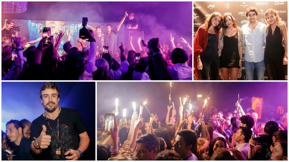 Fernando Alonso se despidió con una gran fiesta en Abu Dabi.