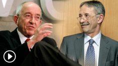 El ex gobernador del Banco de España y el ex presidente de la CNMV