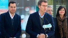 Alberto Núñez Feijóo durante su participación en el acto del PP en Andalucía de cara a las elecciones del 2 de diciembre. Foto: Europa Press