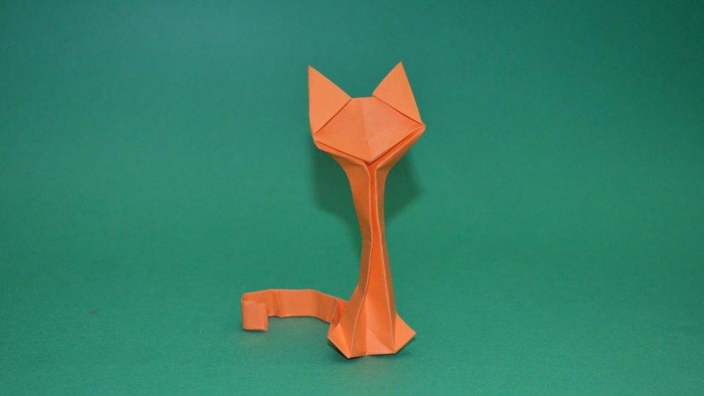 Aprender a hacer un gato de papel es muy sencillo
