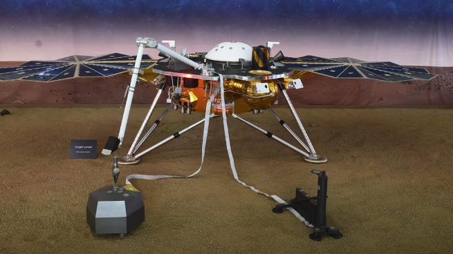 La NASA espera expectante el aterrizaje de Mars InSight