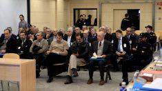 Rodrigo Rato y otros acusados en el juicio a Bankia