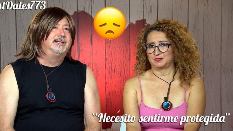 Luis y Karen no han tenido feeling en 'First Dates'