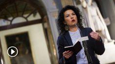 La portavoz adjunta de Podemos en el Senado, Maribel Mora. (Foto: Flickr Podemos)