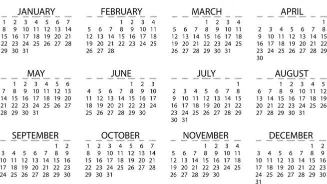 nombre de los meses