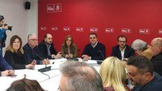 Reunión del PSOE de Madrid. (Foto. PSOE-M)