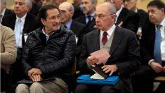 Rodrigo Rato y Moral Santín, en el juicio