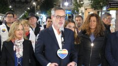 José Manuel Villegas, en la campaña de las andaluzas. Foto: EP