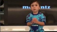 Viral Mateo, el hijo de Leo Messi, baila y enamora a las redes sociales