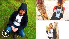 Las camisetas que ha diseñado Podemos de cara a su campaña de declarar 'non grata' a Cospedal