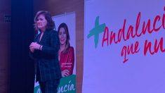 Carmen Calvo este martes en Andalucía (PSOE).