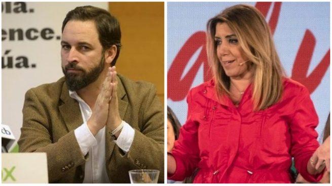 Vox se querellará contra Susana Díaz por decir que es un partido «cómplice de maltratadores»