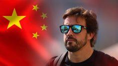Fernando Alonso tiene sus ojos puestos en el mercado chino.