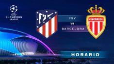 Champions League 2018 – 2019: Atlético – Roma | Horario del partido de fútbol de Champions League.