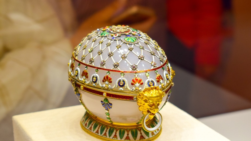 Huevos de Fabergé