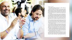 Molina e Iglesias y el documento de las consejeras dimitidas