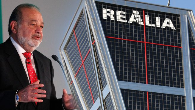 Los accionistas de Realia, hartos de Slim: «Acudió a la ampliación pero no lo ha comunicado»