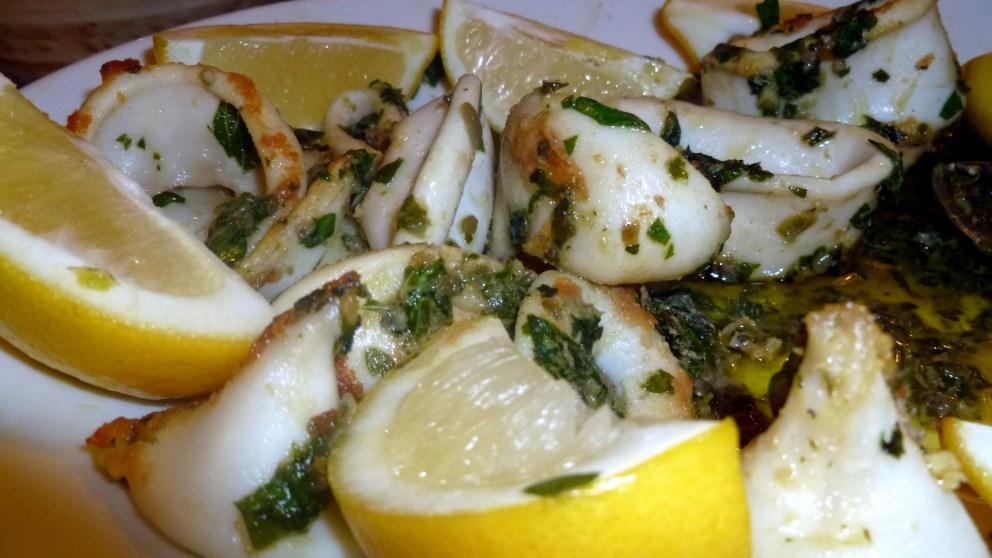Receta de calamares en salsa verde