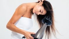 Pasos para usar el difusor para secar el pelo
