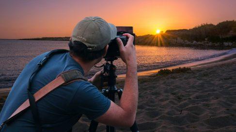 El amanecer puede darte fotografías espectaculares