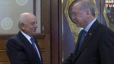 Francisco González junto a Recep Tayip Erdogan