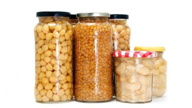 legumbres en conserva