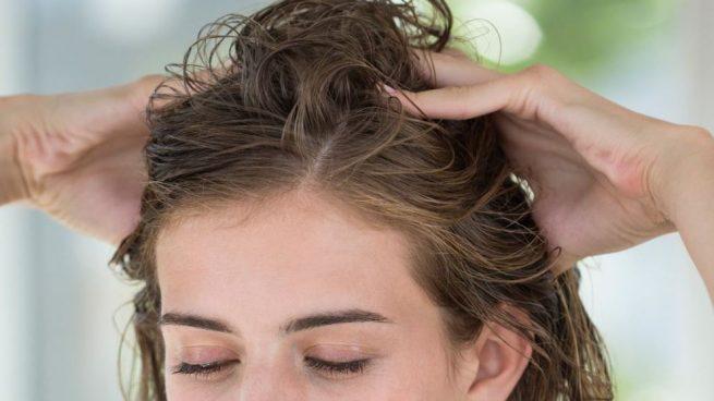 masajear el pelo