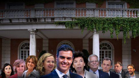 Pedro Sánchez y todos sus ministros implicados en escándalos.