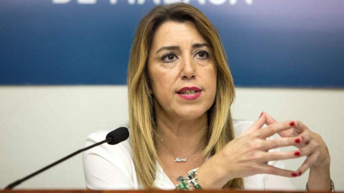 La ex presidenta andaluza Susana Díaz (Foto: EFE).