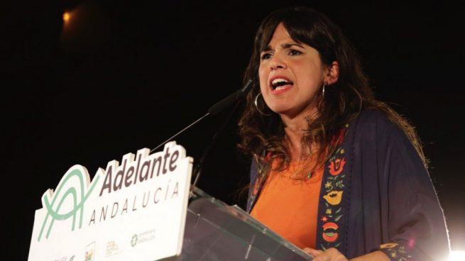 Teresa Rodríguez. (Foto. Adelante Andalucía)