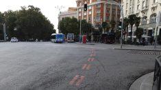 Una de los límites de Madrid Central. (Foto. Madrid)