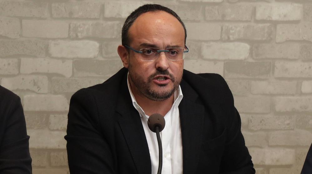 Alejandro Fernández, presidente del PP catalán (Foto. PP)