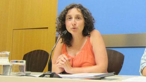 Arantza Gracia, concejala delegada de Educación e Inclusión en el Ayuntamiento de Zaragoza